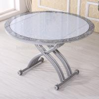 Buy cheap Pneumatic Lifting Center Coffee Table , Glass Lift Top Coffee Table from wholesalers