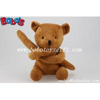 Buy cheap Unusual Holiday Gifts Brown Teddy Bears Toy In Long Arm Design from wholesalers