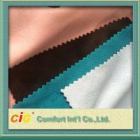Buy cheap 100 to 180g/m2 weight 140 to 150cm width multi-colors and different styles suede from wholesalers