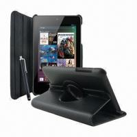 Buy cheap Leather 360 Degrees Rotating Cover Case Stand for Asus Google Nexus 7 Sleep Wake from wholesalers