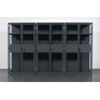 Buy cheap Military , Gym Heavy Duty Storage Locker , Steel Ventilated Wire Mesh Partitions from wholesalers