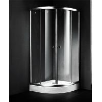 Buy cheap 900x900 Small Corner Shower Units , Fiberglass Shower Enclosures Sliding Open Style from wholesalers