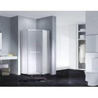 Quality Neo-Angle Hinged Semi Frameless Diamond Shape Shower Enclosure With Pivot Door, AB 3231 for sale