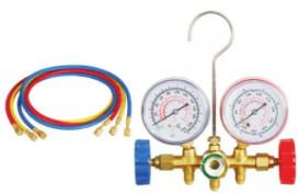 Buy cheap Auto AC Tool 536A refrigerant Gauge  Pipe pressure 600PSI-3000PSI without quick connector product