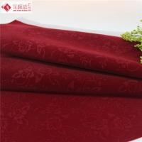 Buy cheap Watch Box Lining Printed Velvet Fabric , Red Velvet Upholstery Fabric from wholesalers