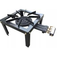 Buy cheap 3 Fire Rings Propane Solid Cast Iron Gas Burner Frame Supported KR3LPGC from wholesalers