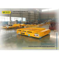 Cost - Saving Electric Transfer Cart Simple Structure For Steel Plant