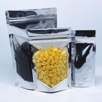 Buy cheap Metallic Foil Mylar Bags  Zip Lock Stand Up Food Pouch Bulk Food Bags from wholesalers