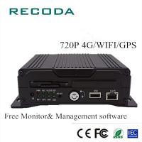 Buy cheap 4Ch 720P Dual SD Card Anti-shock 4G/WIFI/GPS Dual SD Card Vehicle Video Recorder from wholesalers