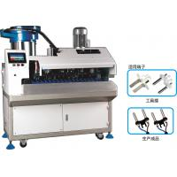 China Update European Plug Inserts Crimping Machine For 2 Core Round Cable on sale