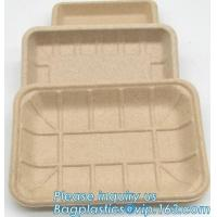 Buy cheap Dishes Plates Eco Friendly Dinnerware Blister Packaging Resturant Serving Tray from wholesalers