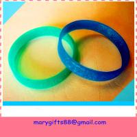 Buy cheap best selling blank rubber silicone bracelet bangles from wholesalers