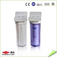 Buy cheap 10 Inch Single Stage UF Water Filter 0.2 - 0.4MPa Max Pressure CE Approved from wholesalers