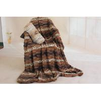 Buy cheap Double Layer Faux Fur Bed Blanket Enviroment Friendly For Gifts / Home Anti - Pilling from wholesalers