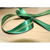Buy cheap Smooth Soft Satin Tape Sewing Invisible Zipper , Custom Silk Dress Metal Coat Zippers from wholesalers