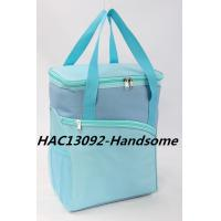 Buy cheap Sky Bule Cooler Bags With Two Handles- HAC13092 product