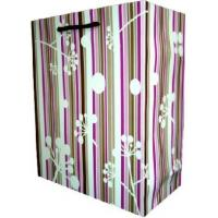 Buy cheap Recycled Laminated Coloured Paper Carrier Bags With Twisted Handles With OEM / ODM Design from wholesalers