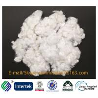 Buy cheap 15DX51 non-siliconized white recycled hollow conjugated polyester staple fiber from wholesalers