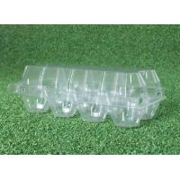 Buy cheap PVC Clear Plastic Egg Cartons , Transparent 8 Cavities egg holder tray from wholesalers