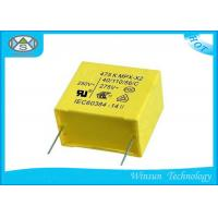 Buy cheap Yellow Metallized Polypropylene Capacitors , X2 Safety Capacitor For LED Lighting from wholesalers
