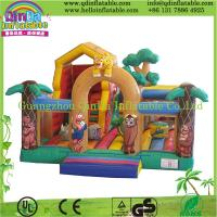 Buy cheap Guangzhou QinDa Inflatable bouncy house catle from wholesalers