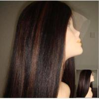Buy cheap Full Lace With Highlight Color 1b/30 Or 2/30(offer free wig glue and remover) from wholesalers