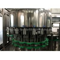 Quality Distilled / Mineral Pet Bottle Filling Machine 5 Spraying Positions Normal Pressure Filling for sale