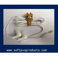 Buy cheap Smart Phone Decoration Accessories Rubber Earphone Ornaments Promotional Gifts from wholesalers