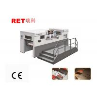 Buy cheap Playing Cards Hot Embossing Machine With Automatic Sheet Feeding Feature from wholesalers