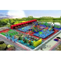 Buy cheap Outdoor Giant Waterproof PVC Inflatable Water Parks For Entertaint from wholesalers