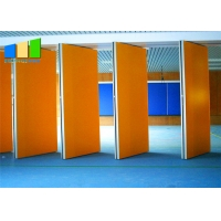 Buy cheap Nigeria Hotel Movable Partition Wall Acoustic Wooden Hanging Folding Partition Wall With Variety Color from wholesalers