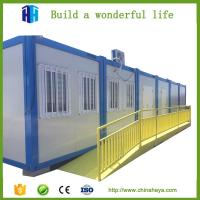 Buy cheap steel framed container van house with small kitchen designs for sale in cebu from wholesalers