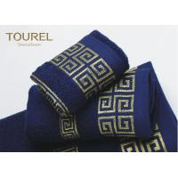 Buy cheap Luxury Hotel Bath Towels16s Blue Color Hotel Collection Towels from wholesalers
