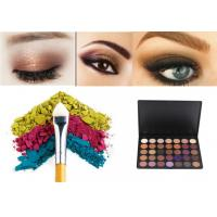 Buy cheap Matte And Shimmer Eye Makeup Eyeshadow Soft Dry Powder Logo Custom from wholesalers