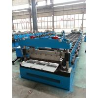 Buy cheap Metal steel roof Kliplock roll forming machine for manufacture product