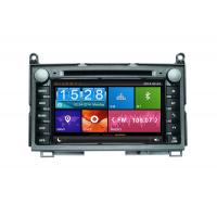 Buy cheap Car radios for TOYOTA with 7'' capacitive Touch screen /1080P high resolution /3D dynamic UI/Bluetooth from wholesalers