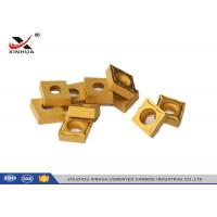 Buy cheap CCMT120408 Hard Metal Cemented Carbide Cutting Inserts For Lathe Holder from wholesalers