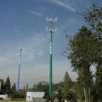 Buy cheap Wear Resistant Telecom Tower Monopole Cell Tower 10 - 750KV ASTM Approved from wholesalers
