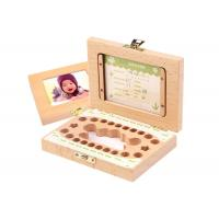Buy cheap Baby Hair Deciduous Tooth Keepsake Box Souvenir Gift Teeth Preservation Box from wholesalers