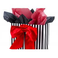 Buy cheap 3.7 Ounces Large Gift Packaging Bag with Tissue Paper ( Red Bow , 13 by 10.4 by 5.7 Inches ) from wholesalers