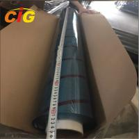 Buy cheap Light Blue Color Super Clear PVC Film Rolls , PVC Bendable Plastic Sheet product