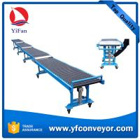 Buy cheap High Rise Expressway Telescopic Gravity Roller Unloading Conveyor from wholesalers