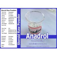 Buy cheap Raw Powder Oral Anabolic Steroids Oxymetholone / Anadrol Steroids For Muscle Bulk Up from wholesalers