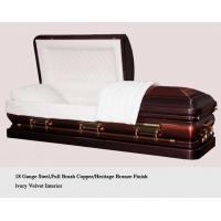Buy cheap metal coffin from wholesalers