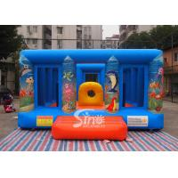 Buy cheap Durable Blue Kids Inflatable Jumper Flame Retardant For Indoor Use from wholesalers