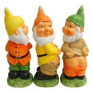 Buy cheap garden gnome bird feeder product