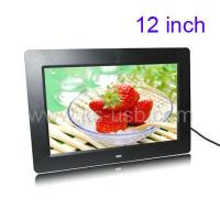 Buy cheap 12.0 inch Digital Picture Frame with Remote Control Support SD / MMC / MS Card and USB product
