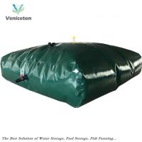 Buy cheap Veniceton  flexible 5000 Liters water storage tank for rain water storage in Belgium from wholesalers