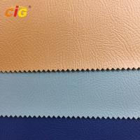 Buy cheap Strong Knitting Backing PVC Artificial Leather for Sofa and Car Seat product