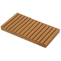 Buy cheap 130X10 Waterproof timber wood flooring anti-againg wpc outdoor wall boards from wholesalers